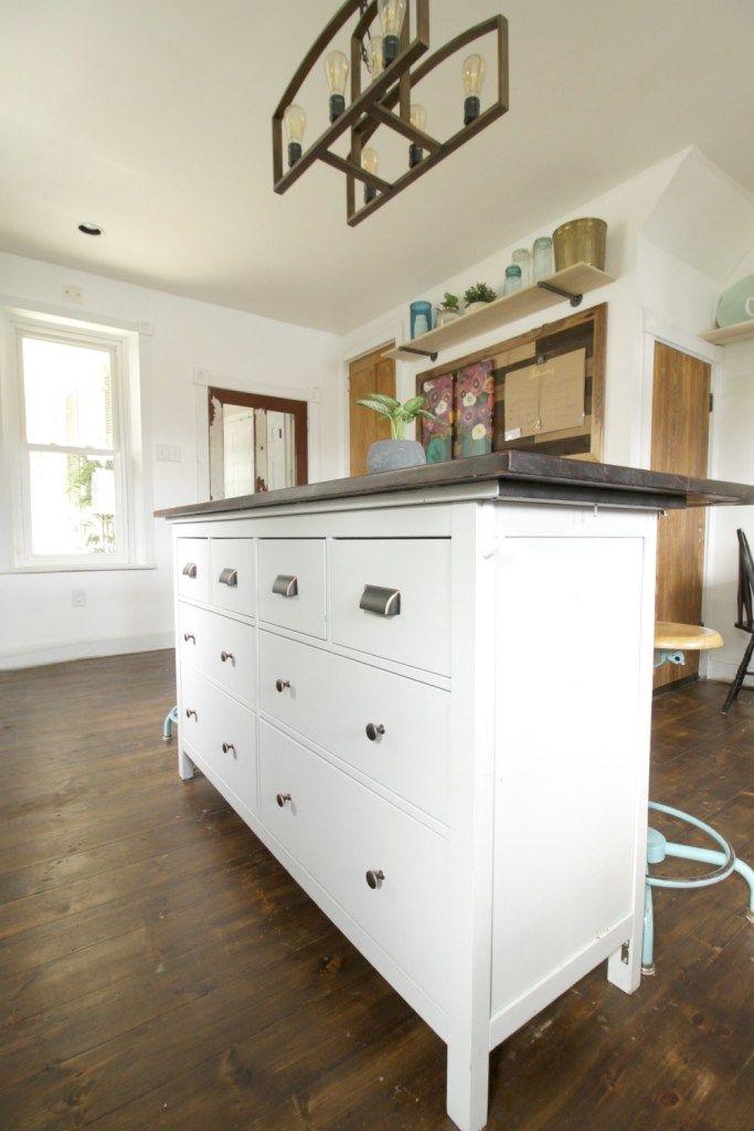 Ikea Dresser Turned Kitchen Island  *home & Design Inspiration Custom Kitchen Islands Ikea Inspiration