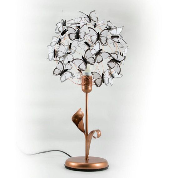Properties table lamp made of iron cooper color base with arum lily properties table lamp made of iron cooper color base with arum lily and leaf keyboard keysfo Gallery