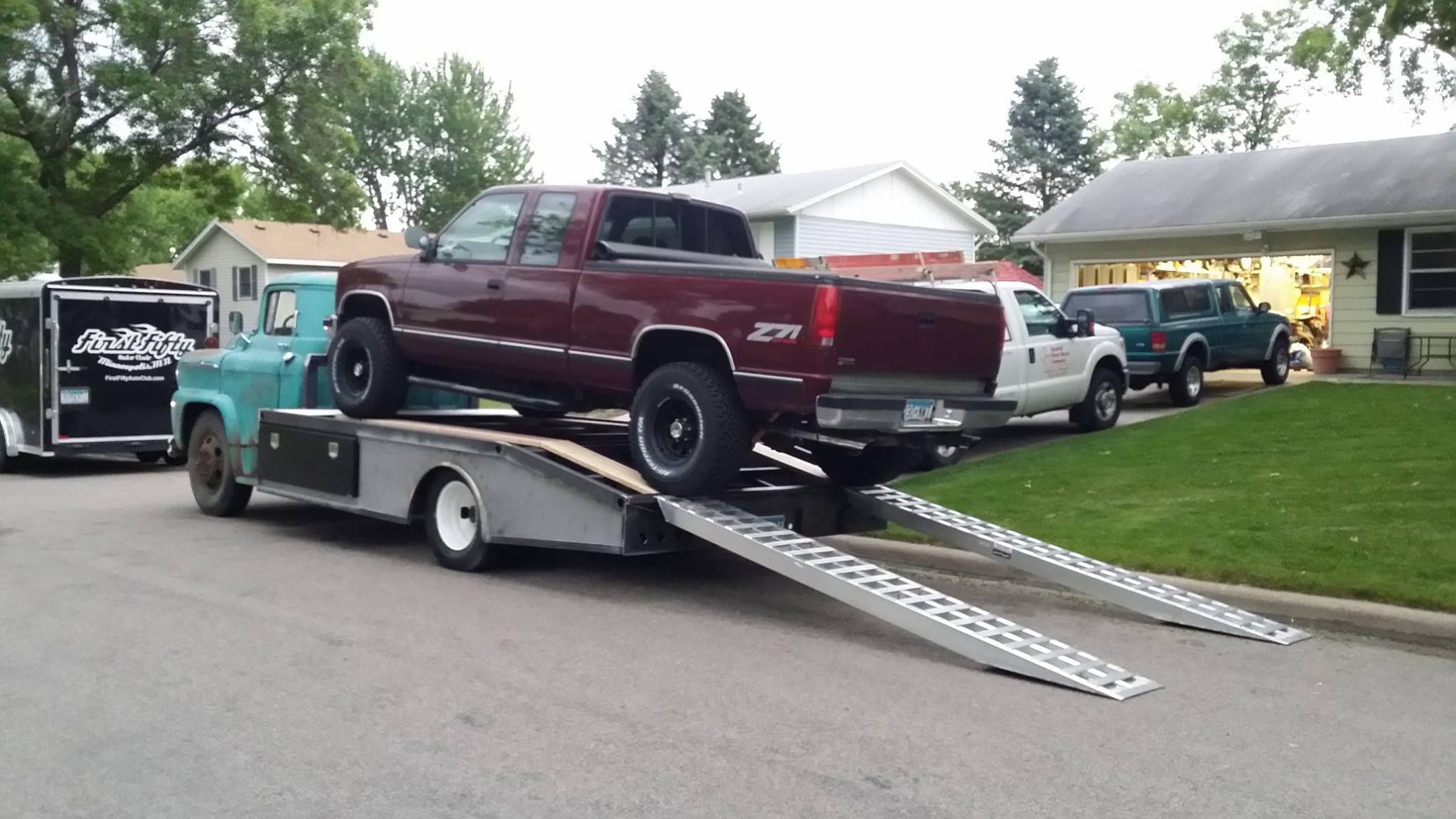 custom ramp truck | Vehicles: Custom Ideas | Pinterest | GMC Trucks ...