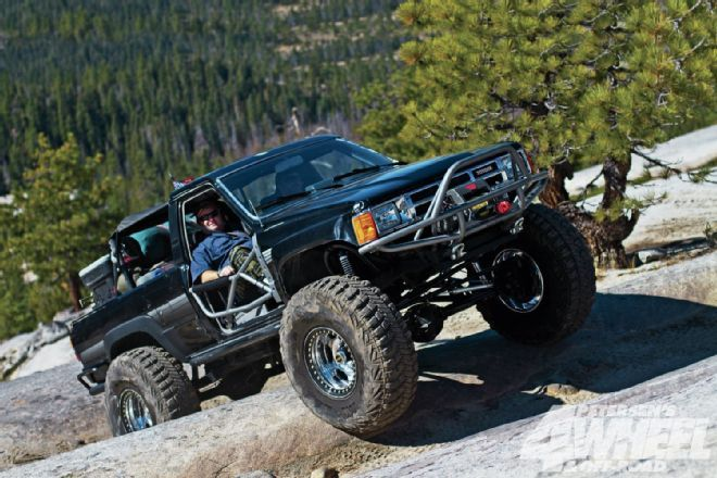 Check out a 1986 Toyota 4Runner with a turbocharged 22RE 4
