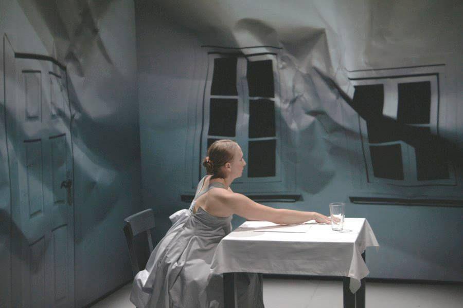 R O O M De Meinhardt And Krauss Set Design Theatre Stage Design Scene Design