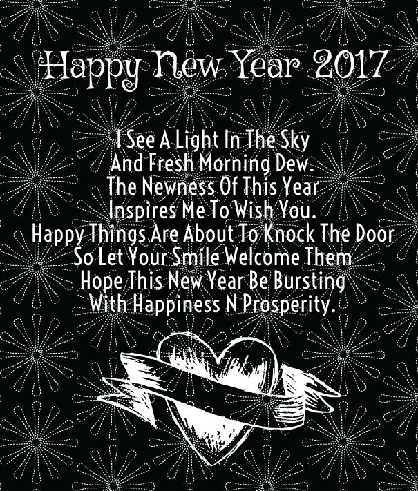 Happy New Year 2017 Quotes: Cute Happy New Year 2017 Wishes Quotes