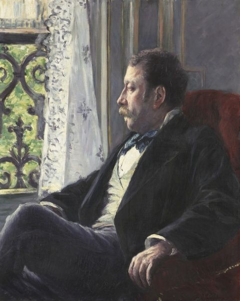 Portrait Of A Man By Gustave Caillebotte 1880 Oil On Canvas In