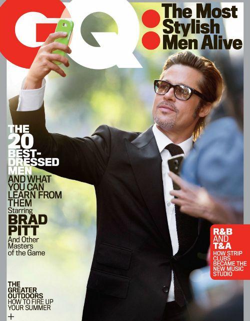 Brad Pitt y Ryan Gosling fueron nombrados los hombres más estilizados por la revista GQ