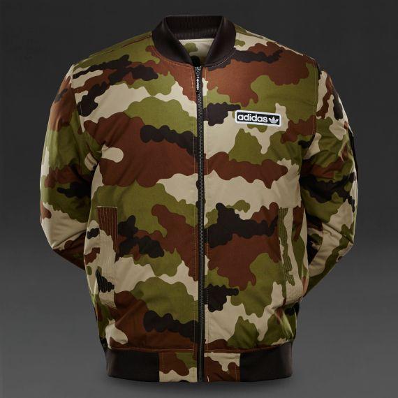 adidas originals mens superstar camo bomber jacket hemp. Black Bedroom Furniture Sets. Home Design Ideas