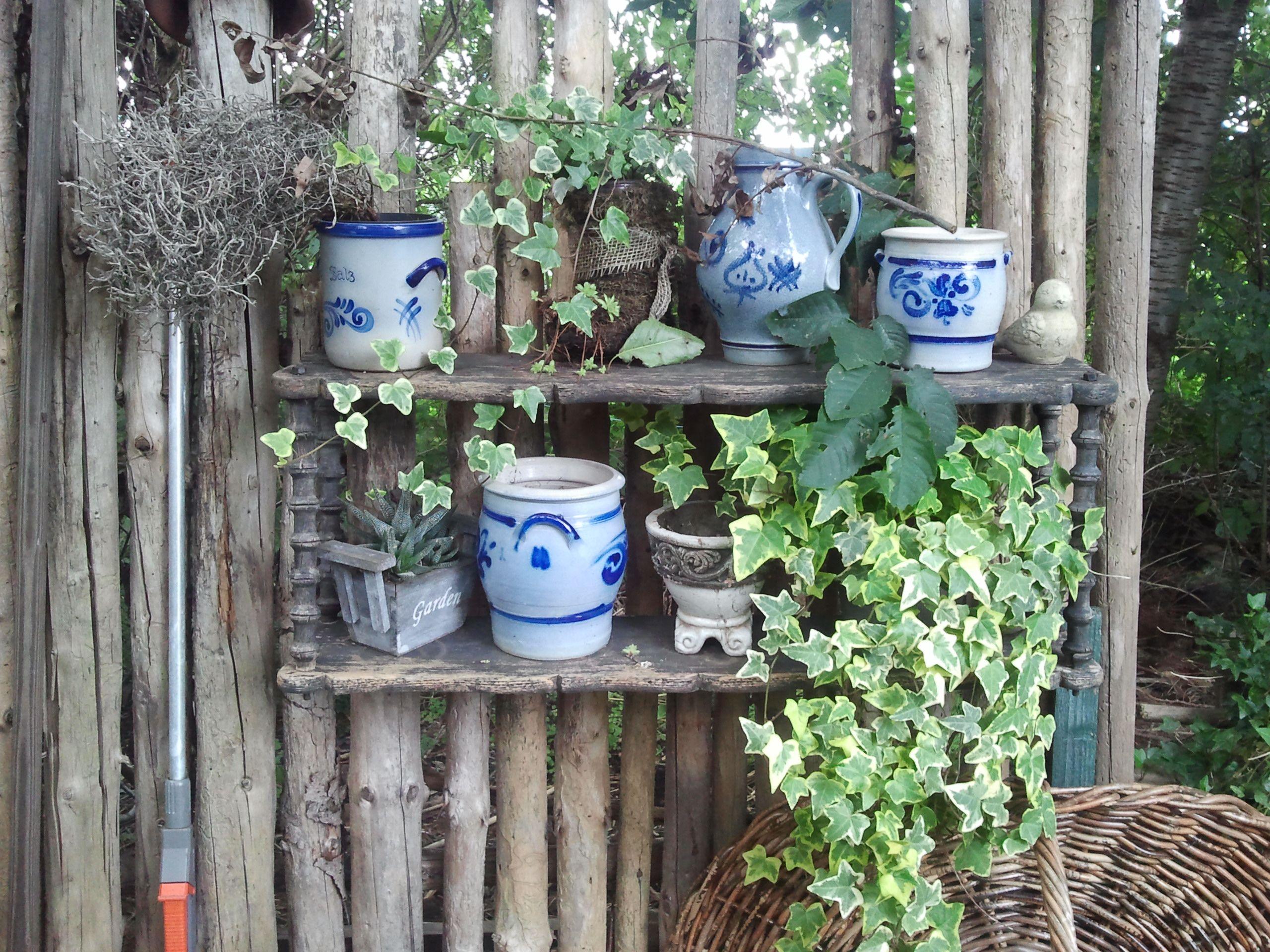 bepflanzte alte t pfe und kannen bepflanzung und garten pinterest t pfchen bepflanzung. Black Bedroom Furniture Sets. Home Design Ideas