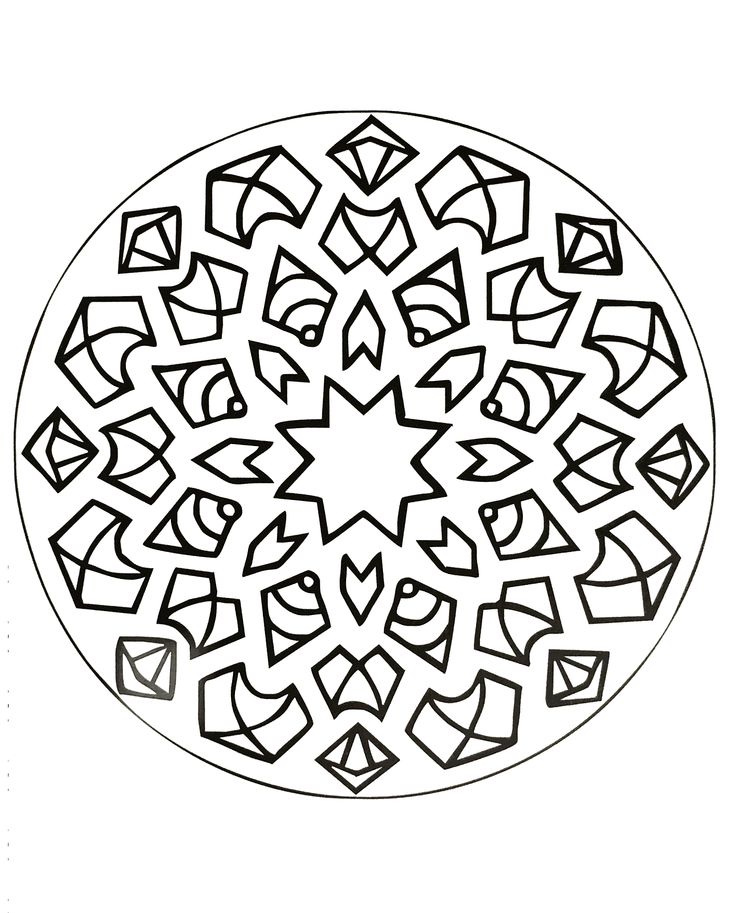Adult coloring books for pc download - Here You Can Download All The Mandalas To Increase Your Concentration At No Cost By Colouring Them In Either By Hand Or On Your Pc You Will Find