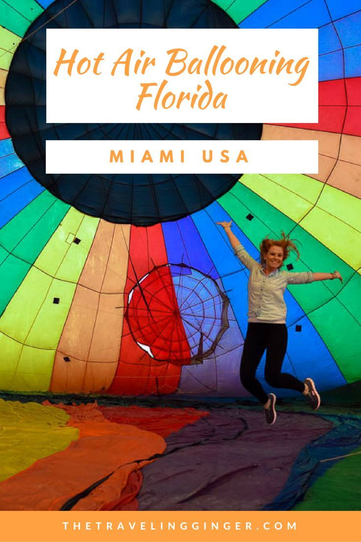 A HOT AIR BALLOON RIDE IN MIAMI, FLORIDA Air balloon