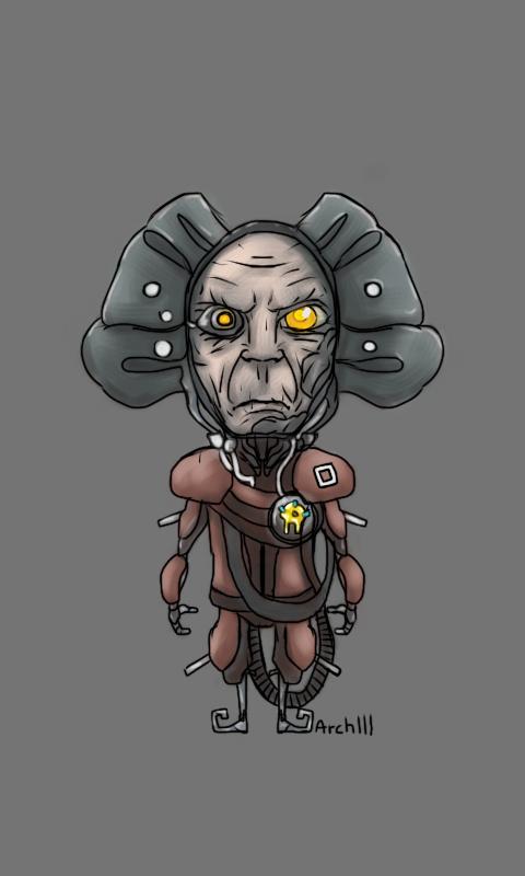 Old man Vor is looking very grumpy. As usual.