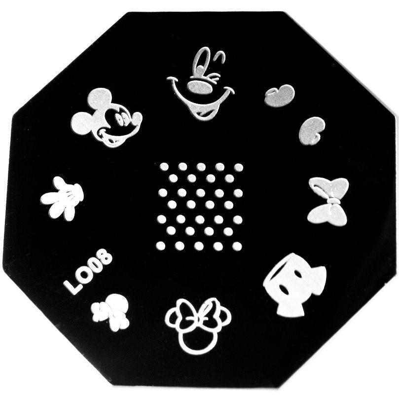 Meliney Nail Art Micky Mouse Image Plate 4 99 Http Www Meliney Com Micky Mouse Image