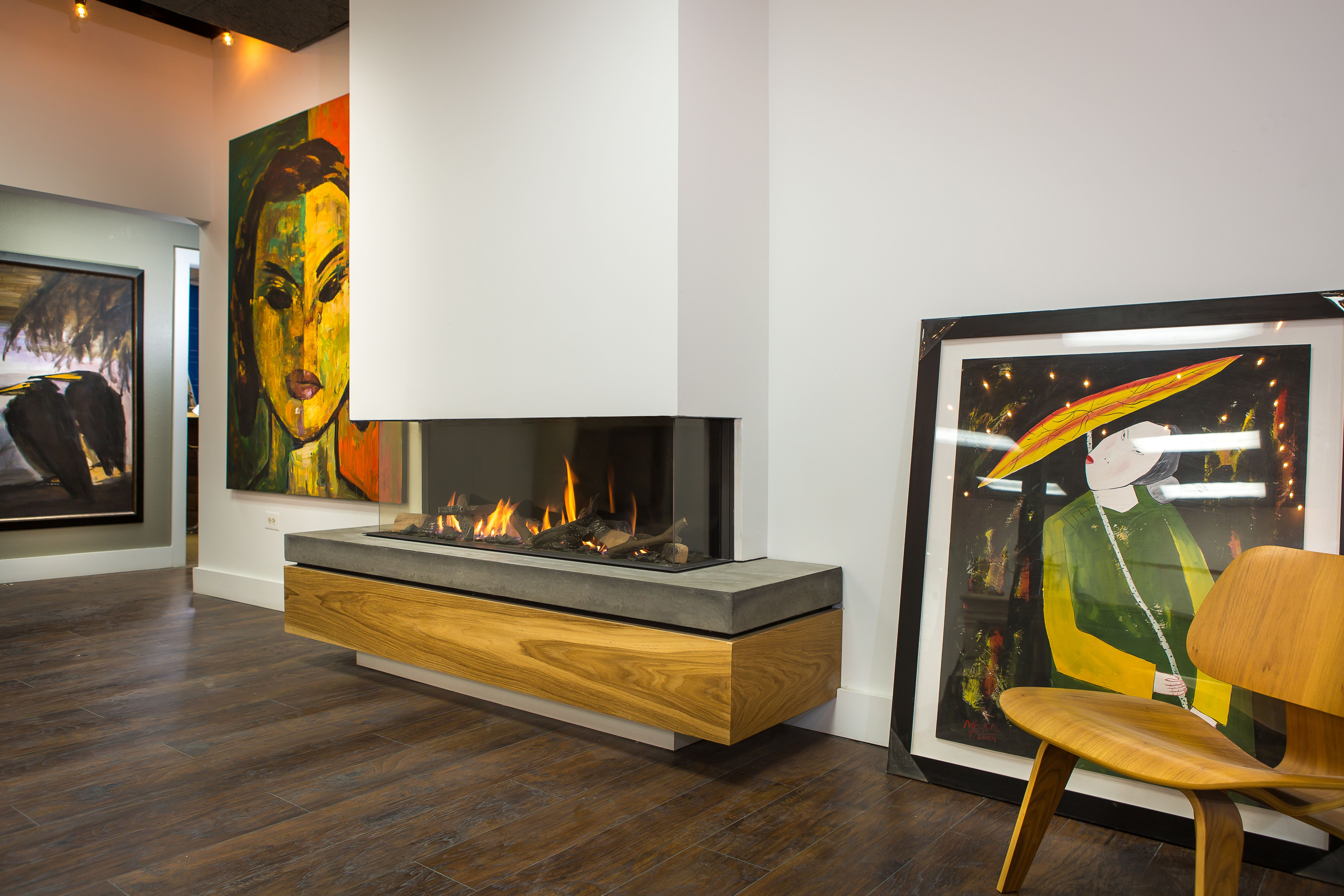 Trisore 140 by element4 modern bay style gas fireplaces for Europeanhome com