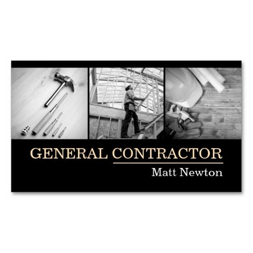 General Contractor Builder Manager Construction Business Card Zazzle Com In 2021 General Contractor Business Construction Business Cards Construction Business