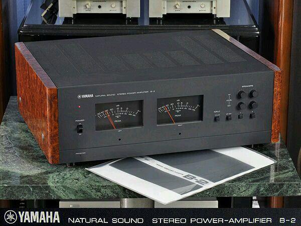 Vintage Yamaha Amp B2 Yamaha Audio Yamaha Hi Fi Vintage Electronics