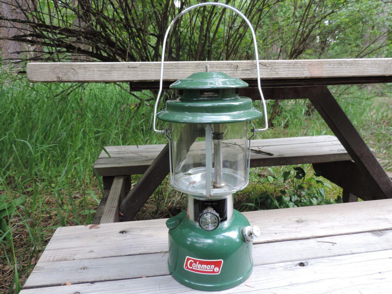 Vintage Coleman Lantern 1977 New Coleman Camp Lantern Never