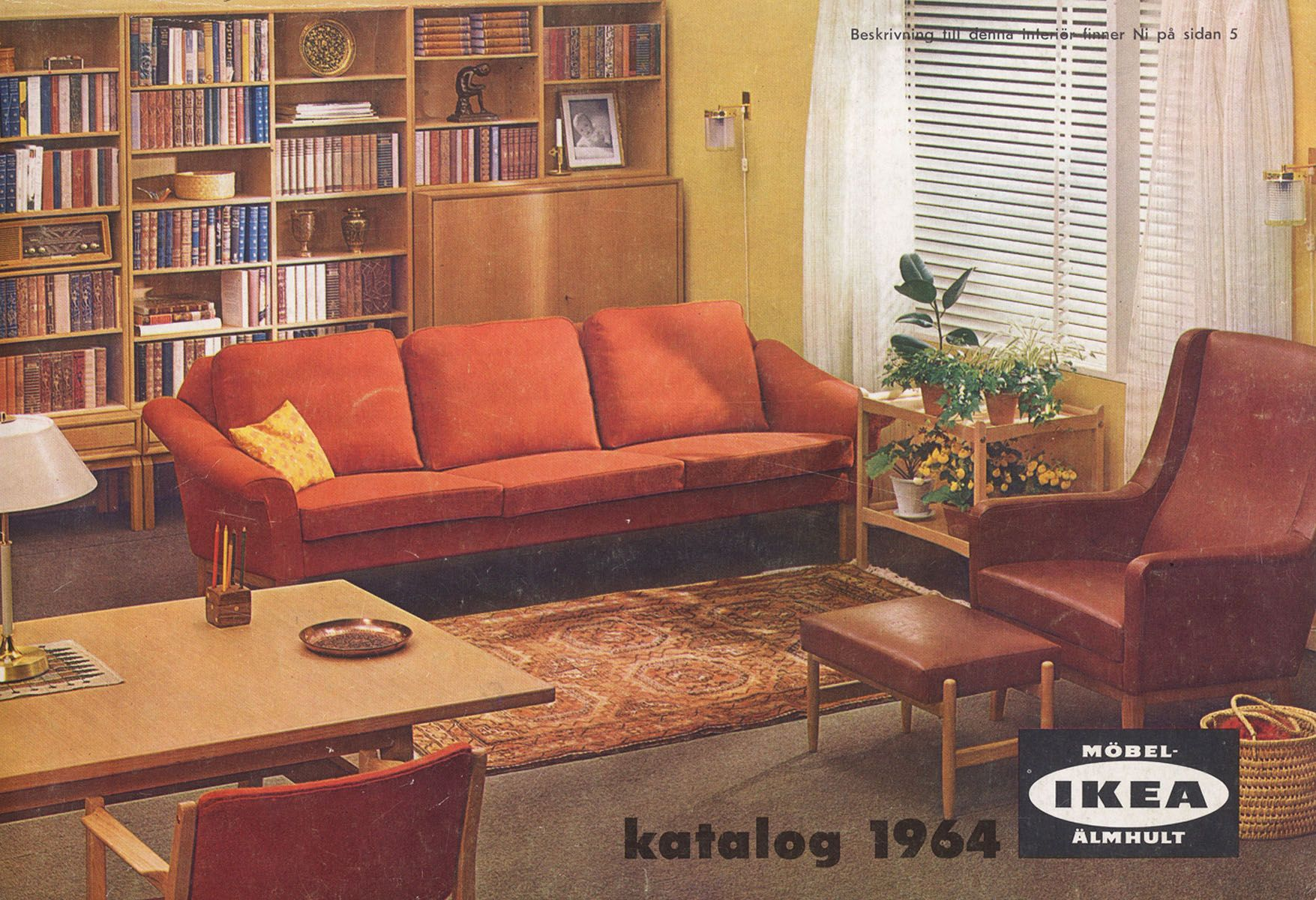Ikea 1964 Ikea Catalog Furniture Catalog Retail Furniture