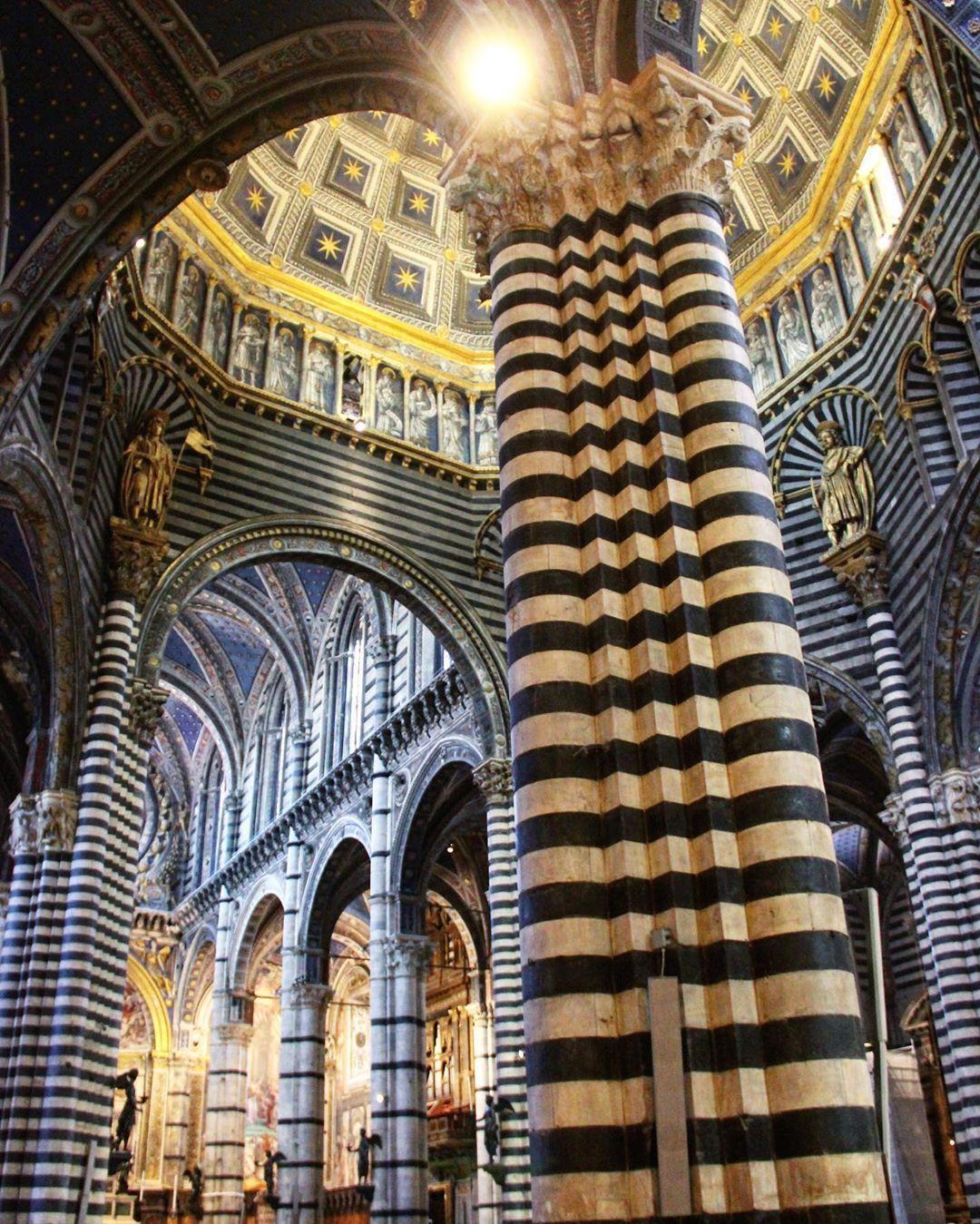 Duomo Di Siena, Italy in 2020 | Siena italy, Italy travel ...