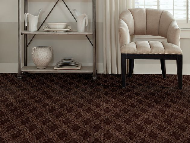 Caress By Shaw Stylish Art 00707 Bison Carpet Design