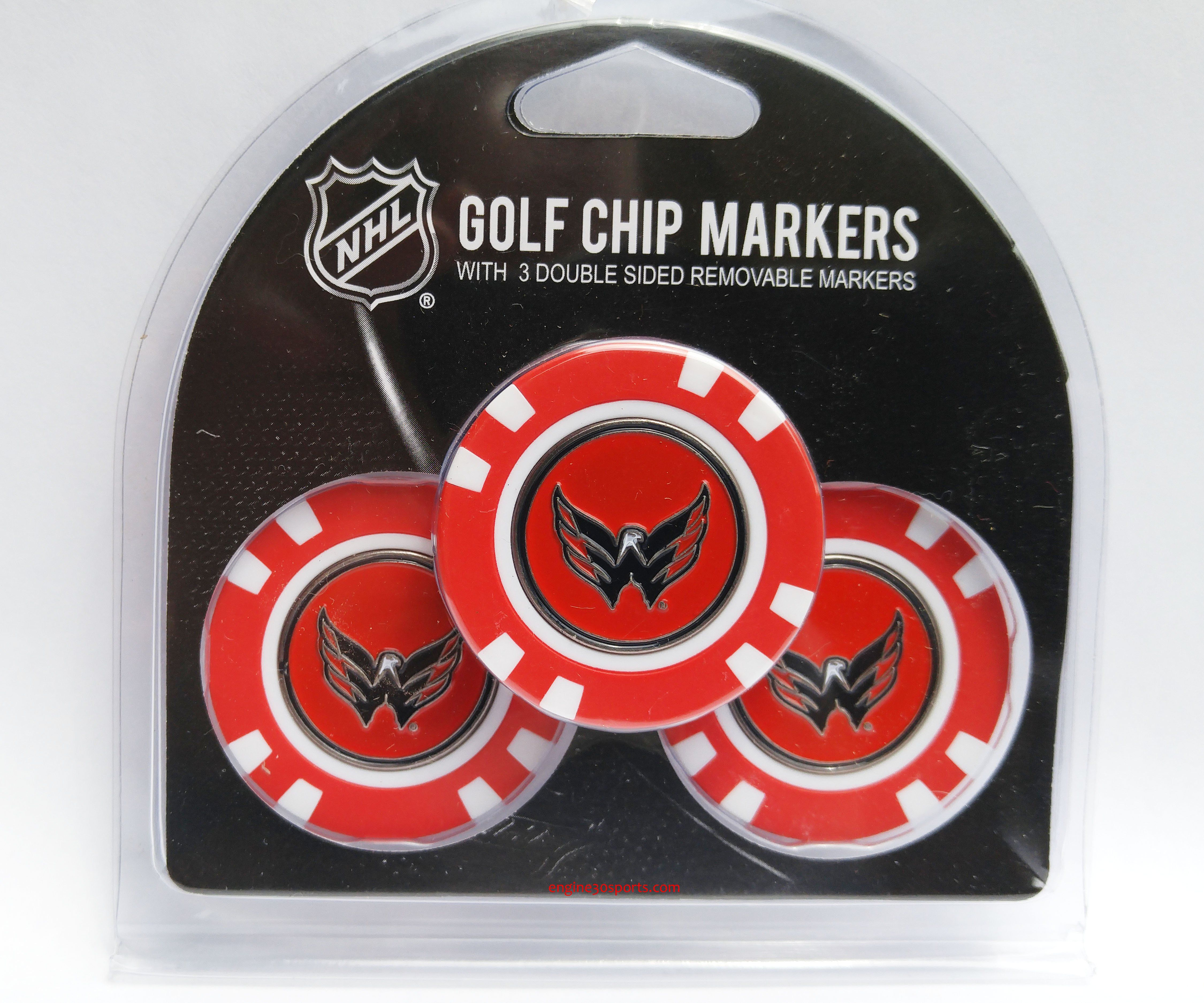 washington capitals golf chip with marker 3 pack golf chipping