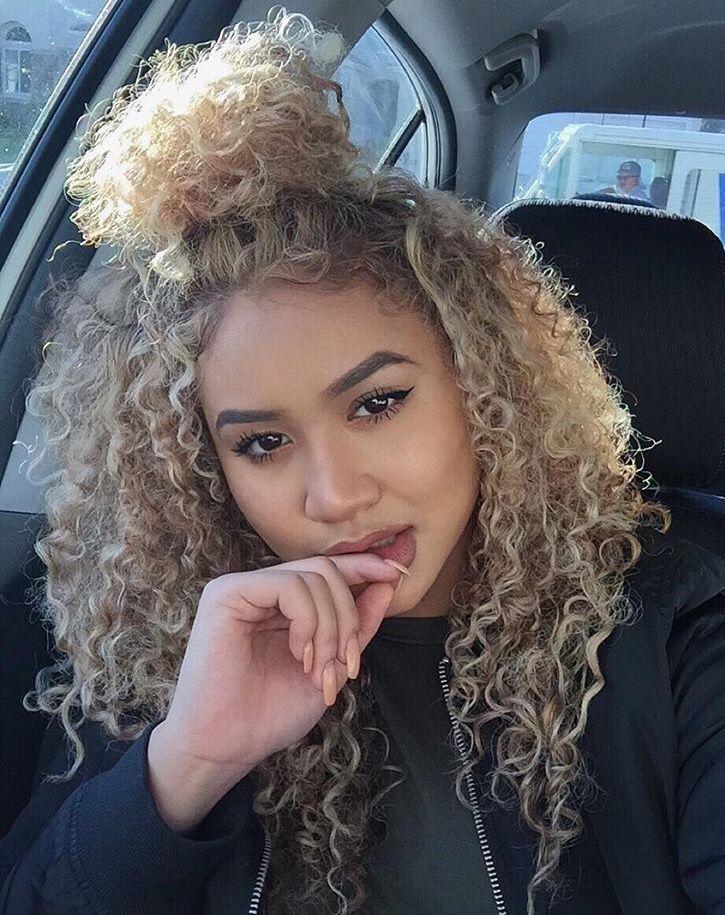 Blonde Hair On Medium Skin Curly Hair Styles Naturally Blonde