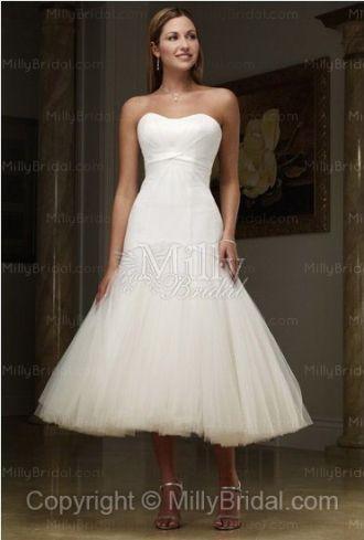 http://www.millybridal.com/a-line-sweetheart-organza-pleating-white ...