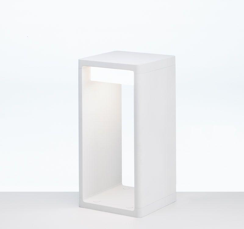 Frame S Baliza Exterior 2g7 2x7w Blanco 677220 B Lux Ilamparas Com Disenos De Unas Lamparas Comprar Lamparas