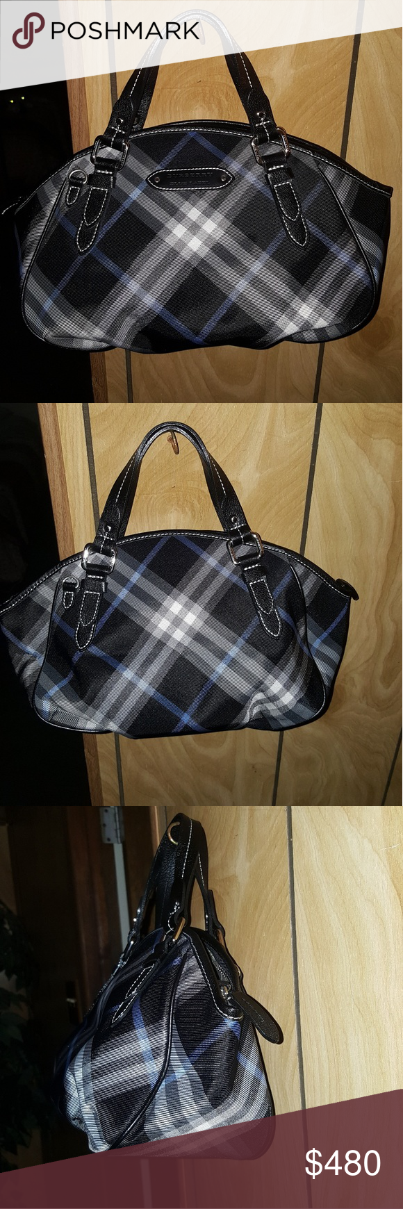 9232965d740c Burberry Bags Shoulder Bags. 100% Authentic Blue Blueberry handbag 100% Authentic  Blue Blueberry handbag