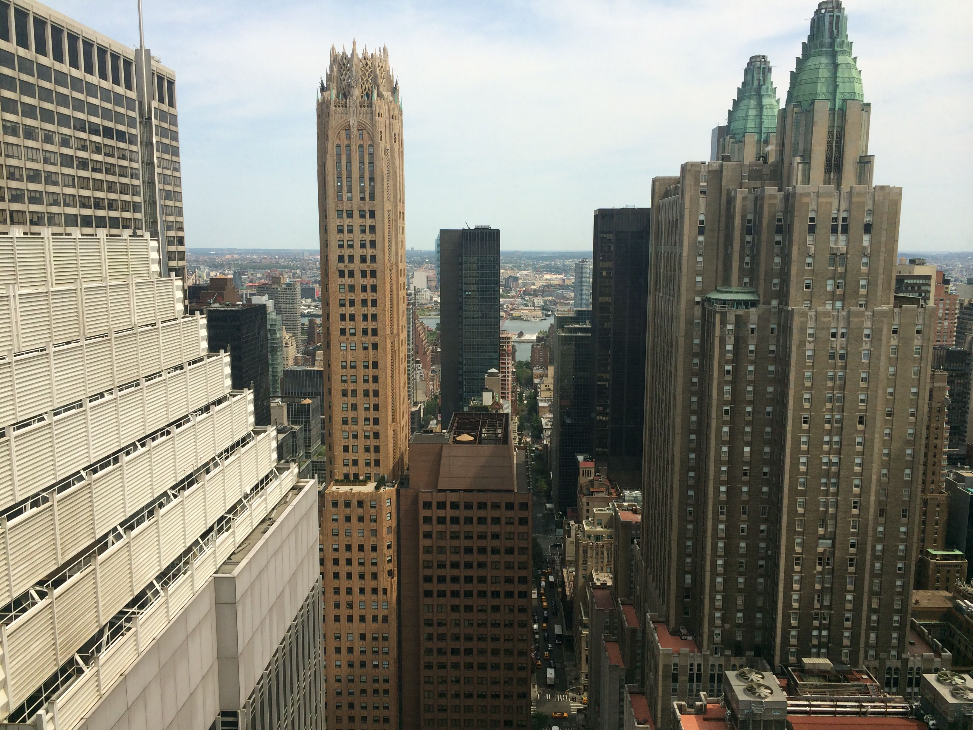 East view from a Towers Corner Suite #48thfloor #midtown #roomwithaview (With images) | Hotels ...