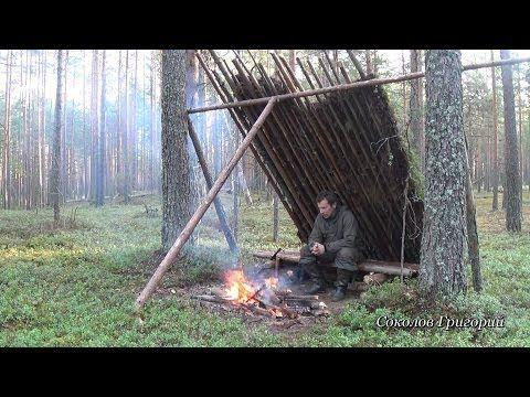 Увеличить укрытие от дождя в лесу
