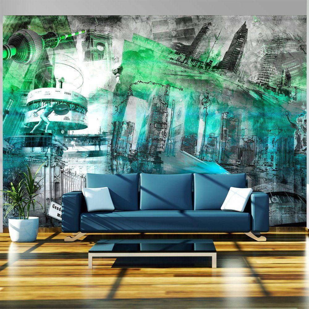 vlies tapete top fototapete wandbilder xxl 350x245 cm architektur 10110904 7 amazon. Black Bedroom Furniture Sets. Home Design Ideas