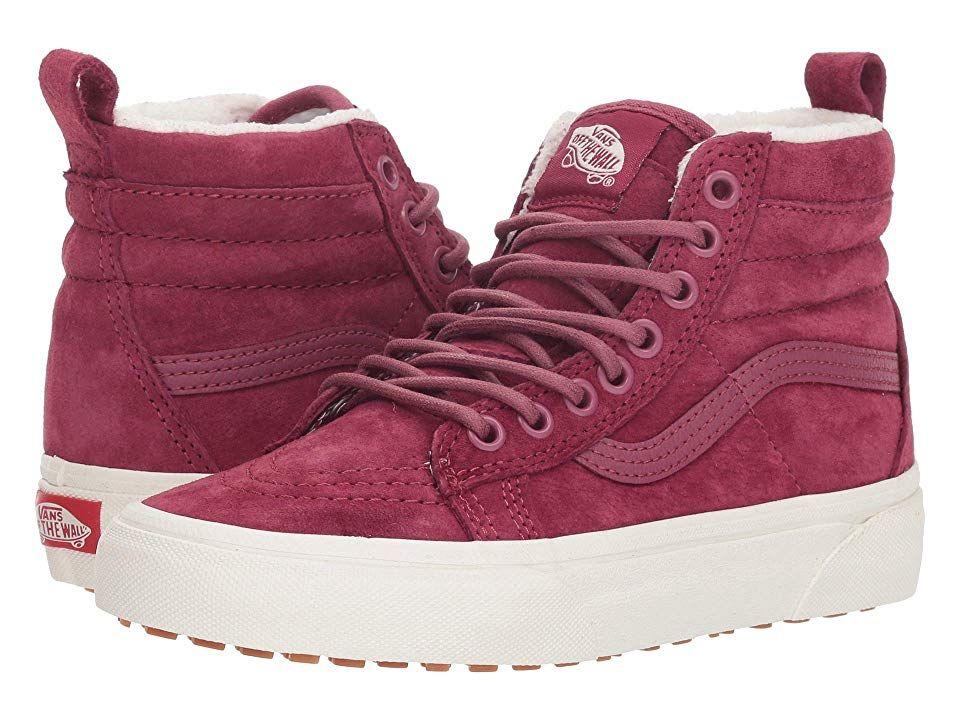 Vans Sk8 Hi Mte Mte Dry Rose Marshmallow Skate Shoes