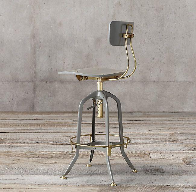 Stupendous 1940S Vintage Toledo Bar Chair Ffebar Leather Bar Cjindustries Chair Design For Home Cjindustriesco