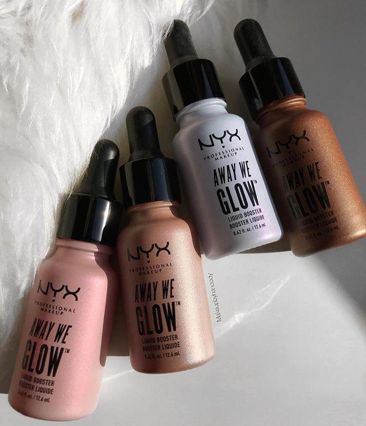 Nyx Cosmetics Away We Glow Liquid Booster Produtos De Maquilhagem Produtos De Beleza Marcas De Maquiagem