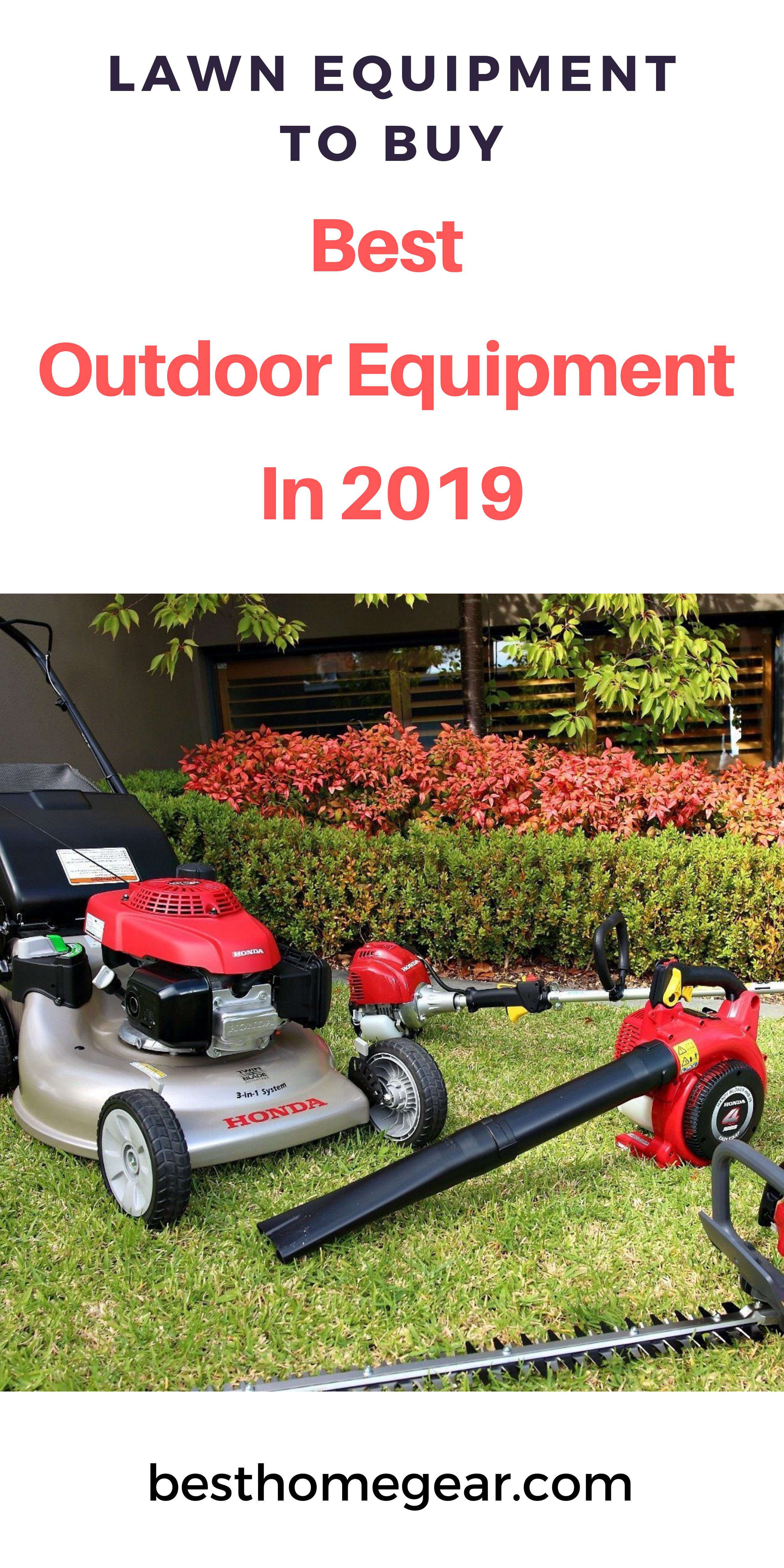 Best Outdoor Equipment 2020