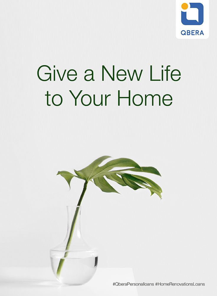Make Your Home a better place to live! Apply for #HomeRenovationLoan