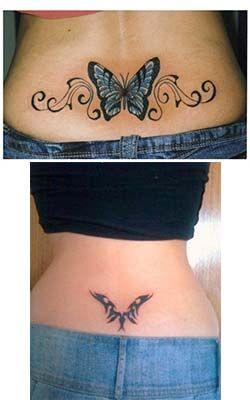 Tatuajes Para Mujeres En La Espalda Baja Tribal Foto Tattoos