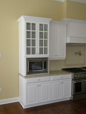 Same Color Scheme... Might Need A Microwave Built In Cabinet? Or Just