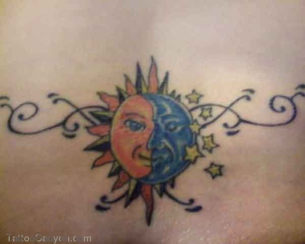 Tattoo Designs Sun Moon Stars  Gallery picture 10504