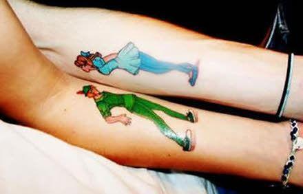 tatuajes para parejas disney Tatuajes Especial para Mujer Pinterest - tatuajes para parejas