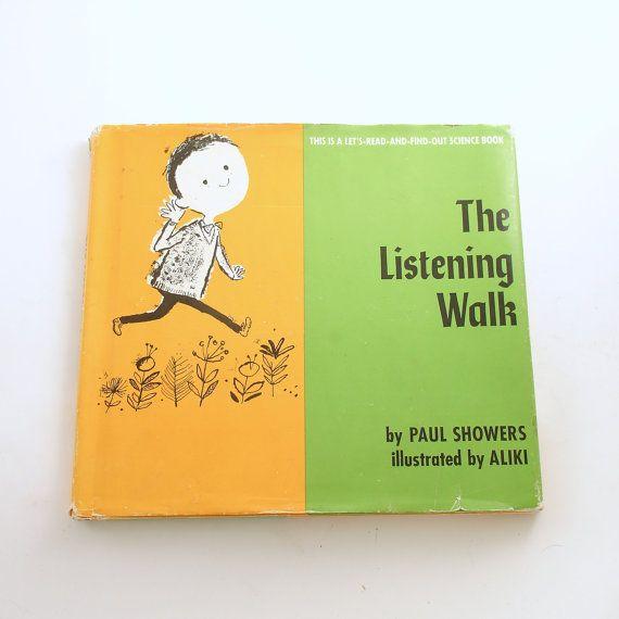 Vintage Children S Book The Listening Walk Paul By Efinegifts