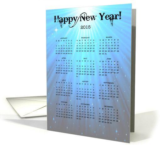 Happy new year gregorian calendar 2015 12 months card happy new year gregorian calendar 2015 12 months card m4hsunfo
