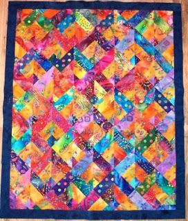 Batik Quilt Jelly Roll Quilts Jellyroll Quilts Quilts Ja Quilt