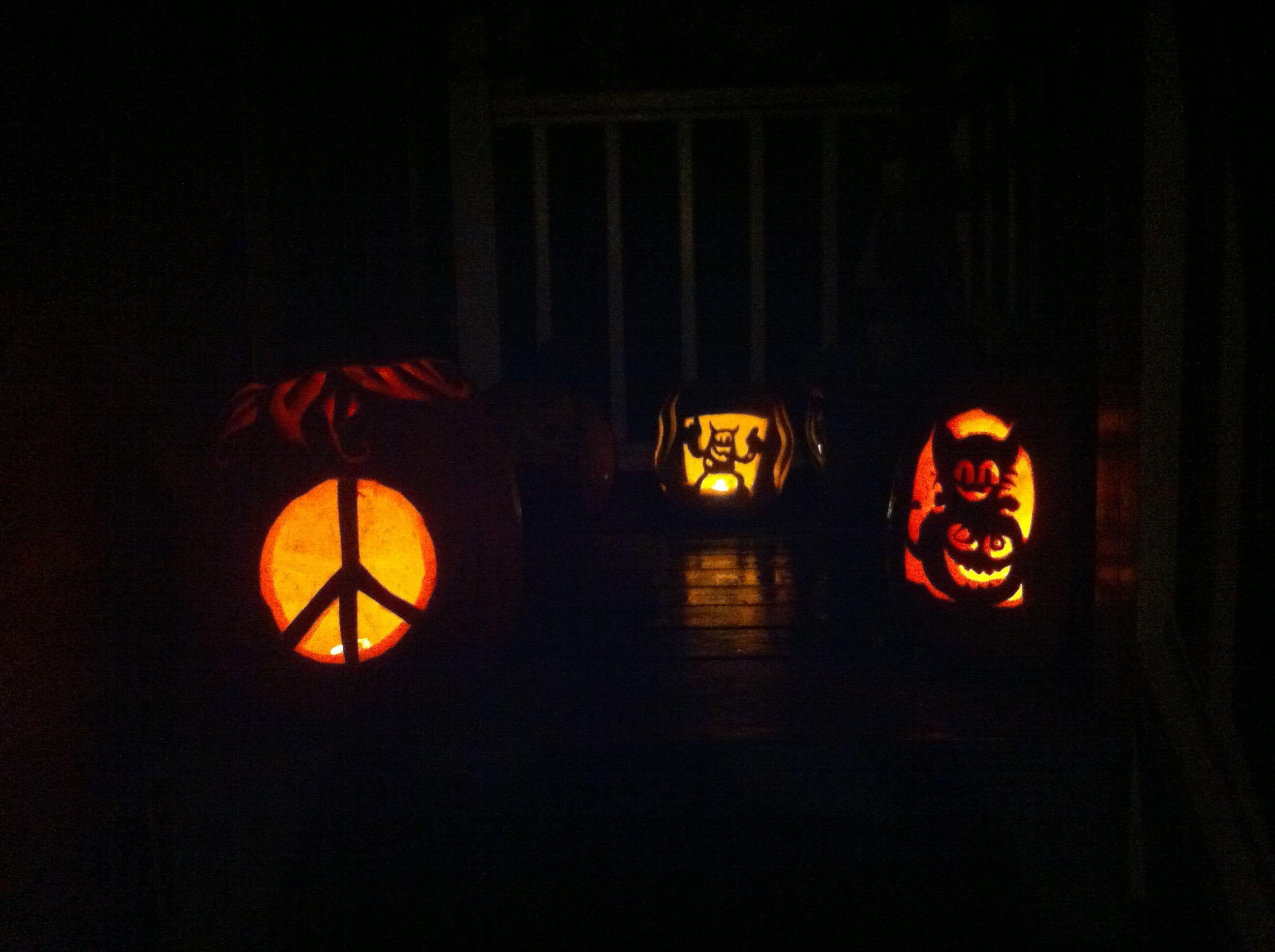 Family affair... Pumpkin party!