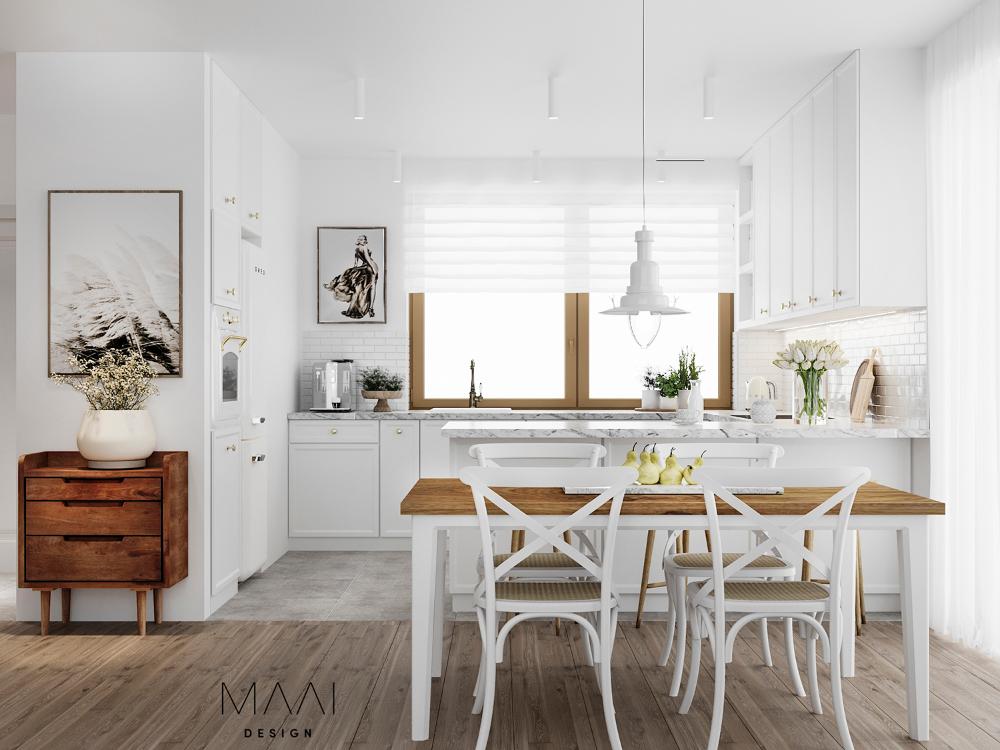 Projekt Kuchni I Salonu W Naszym Kameralnym Domu Na Wsi Home Decor Home Home Design Images