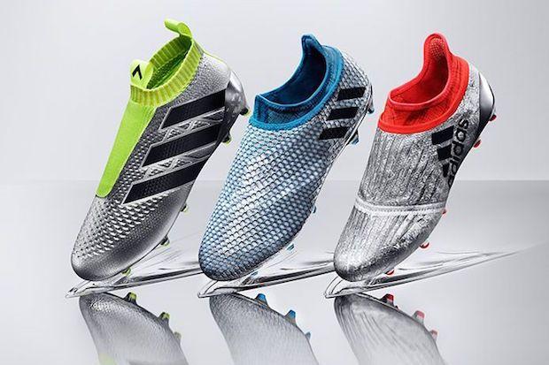 Mercury pack, les chaussures de foot sans lacet d'Adidas ...