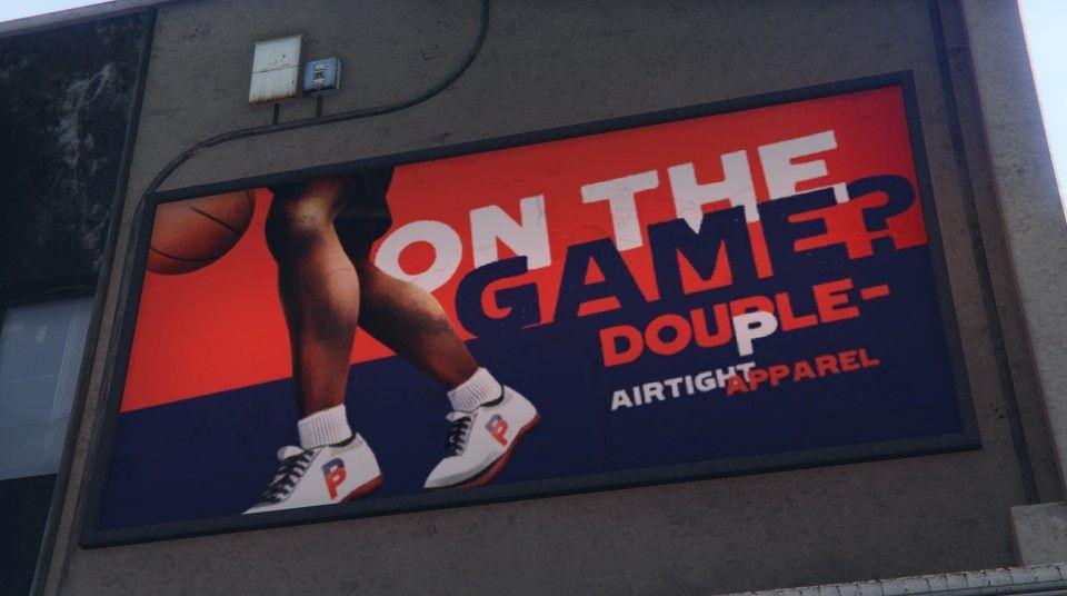 #GTA #GTAV #GTA5 #Rockstar #Snapmatic #Gaming #PS4 #Billboard #GTAGraphicDesign #GraphicDesign #Sneakers #Footwear #Advertisement #LosSantos #SanAndreas