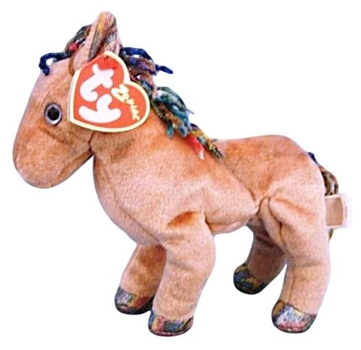 Ty Zodiac Collection Horse Beanie Baby Beanbag Plush  6c916cce5554