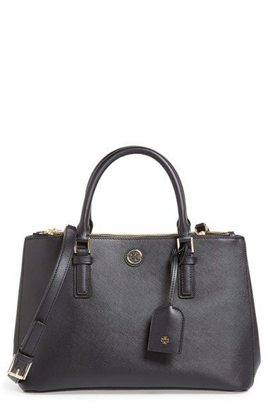 79b144c3f8c But in Tiger s Eye Brown!!! Tory Burch  Mini Robinson  Double Zip Tote  available at  Nordstrom  495