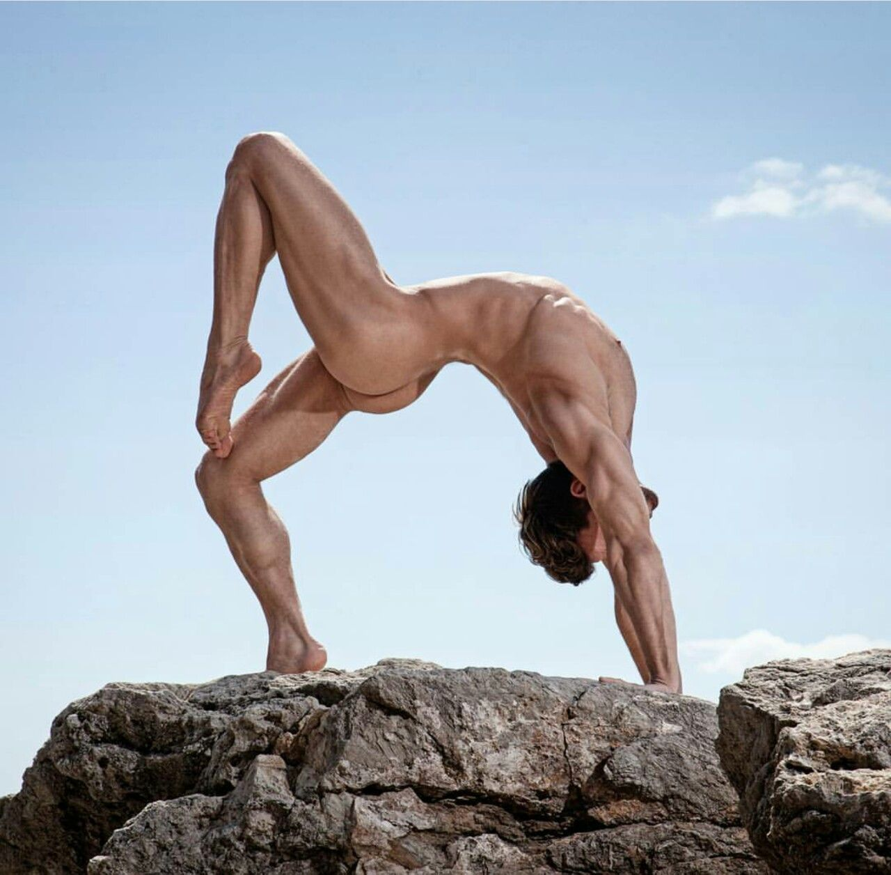 Naked yoga class porn-7011