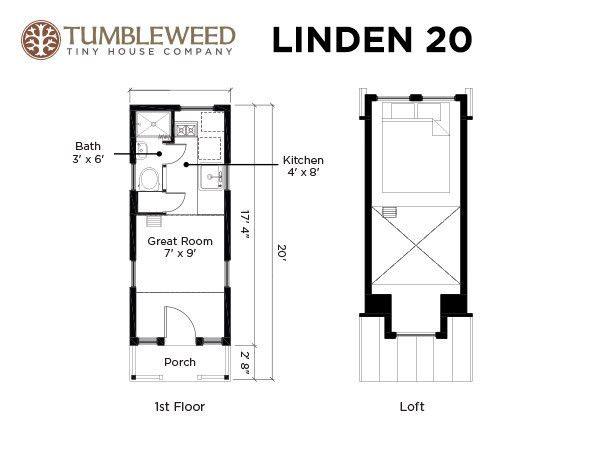 Tiny houses for sale tumbleweed tiny houses house for Tumbleweed floor plans