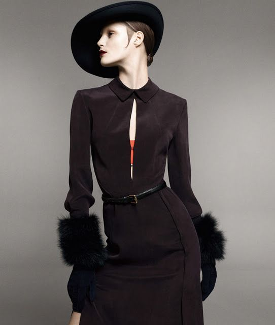 Sportmax Campaign Fall 2011- By David Sims |